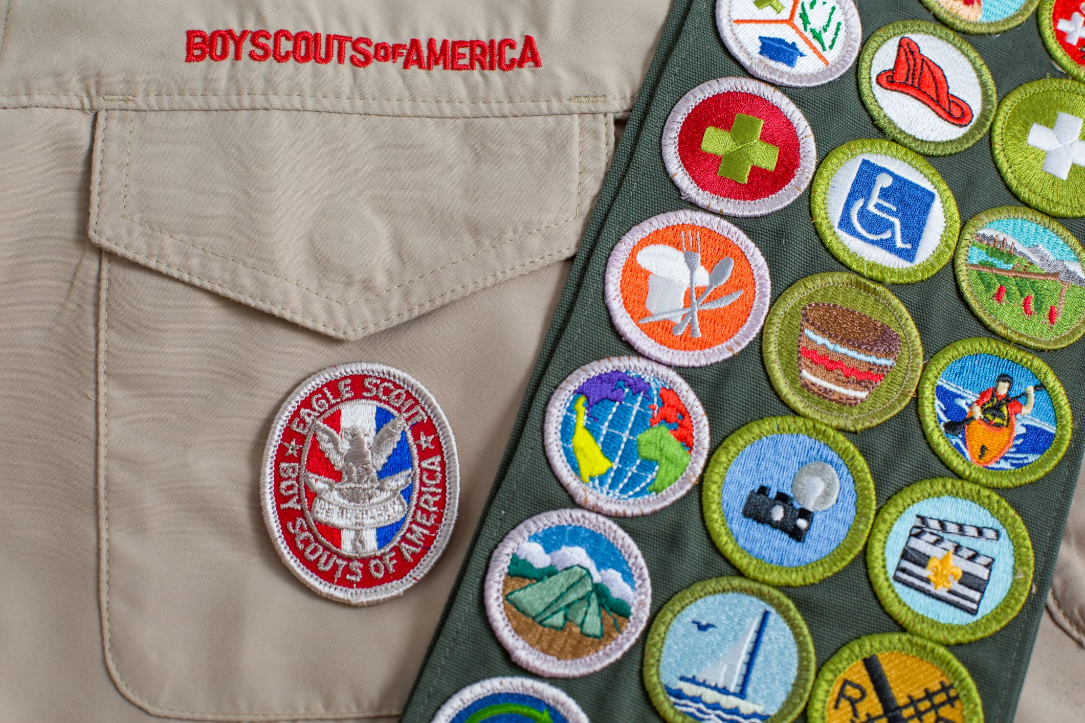 Scout Uniform with Sash